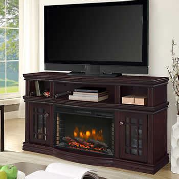Electric Fireplace Costco Westhaven 56 Quot Media Electric Fireplace