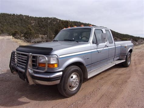 how petrol cars work 1994 ford f350 seat position control barn find 1994 ford f350 xlt 7 3l turbo diesel 5 spd dually 64k no reserve classic ford f 350