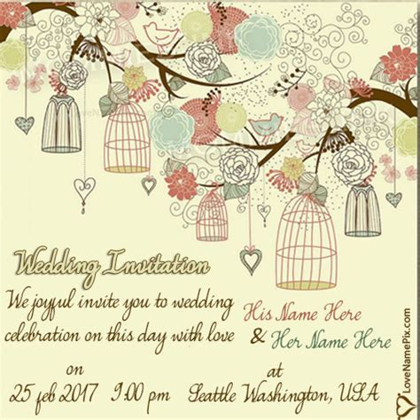 Wedding Name Generator by Invitation Name Generator Images Invitation Sle And