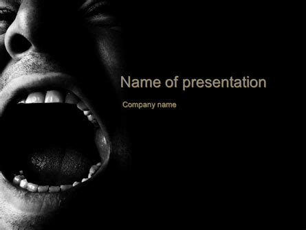 Horror Powerpoint Templates And Backgrounds For Your Presentations Download Now Horror Powerpoint Template