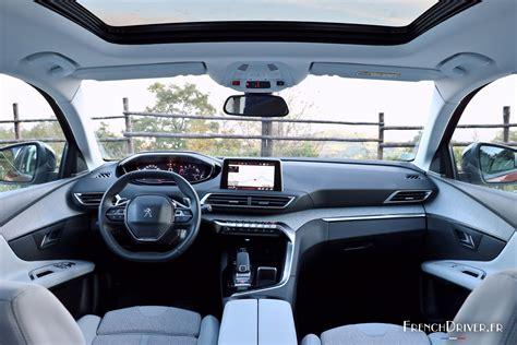 peugeot 3008 2016 interior essai peugeot 3008 ii 1 6 thp 165 mont 233 e en gamme