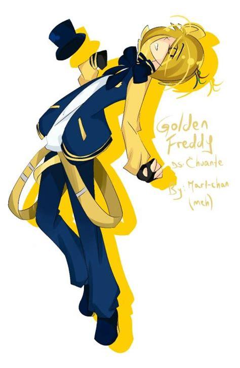 golden anime human freddy golden freddy total fnaf fan pinterest search