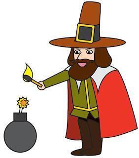 fawkes clipart bonfire