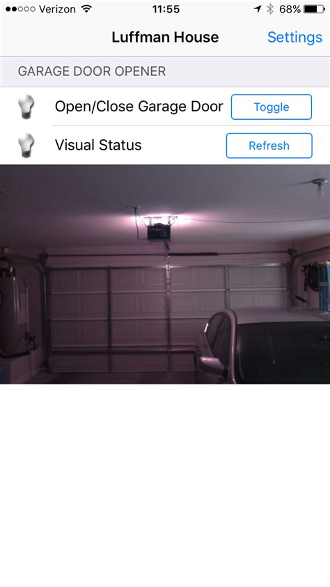 gallery home automation garage door opener hackaday io