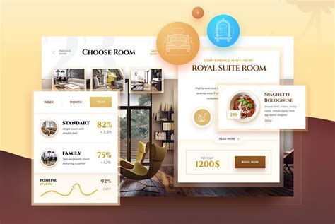 hospitality design editorial calendar free hotel booking ui kit psd download download psd