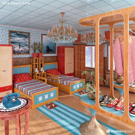 wes anderson bedroom if 7 film directors designed your bedroom homeadvisor