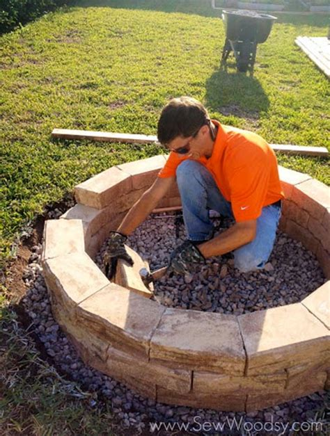 can i build a fire pit in my backyard original and easy fire pit you can make yourself top