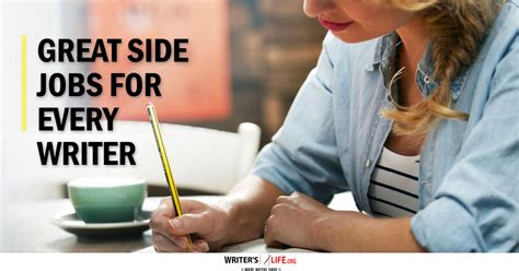side jobs great side jobs for every writer writer s life org