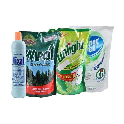 jual paket hemat rumah bersih 01 sunlight lime 800 ml