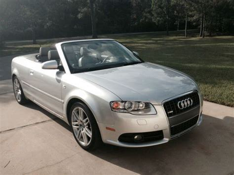 2009 audi a4 convertible buy used 2009 audi a4 convertible with quot s quot line package