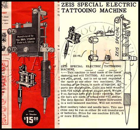 zeis tattoo machine zeis special electric on behance