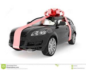 gifts for a new car expensive car for sale or gift royalty free stock image