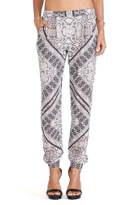 Twelfth St By Cynthia Vincent Snakeskin Shoes by Twelfth Cynthia Vincent Snakeskin Print Jogger