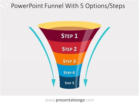 free powerpoint funnel template 46 best powerpoint funnels images on