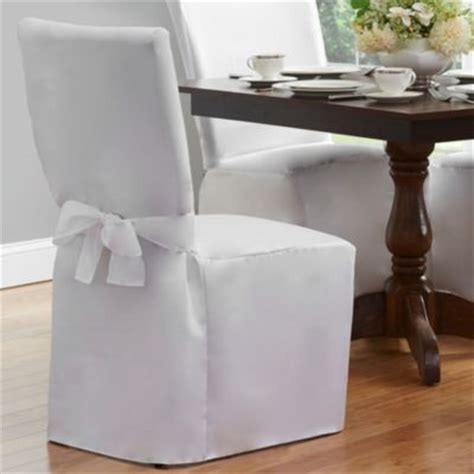 Dining Room Chair Covers White Buy Dining Room Chair Covers From Bed Bath Beyond