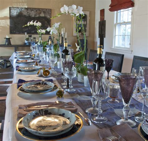 Dining Table Settings Decorations Table Setting Ideas For Dinner Crowdbuild For