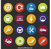 Mechanic Icons Vector  Free Download