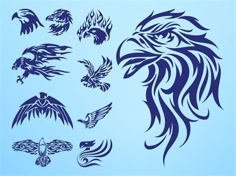 tattoo eagle vector vector eagle tattoos lordofdesigncom download free graphic