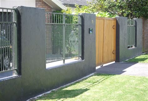 Metallzaun Lackieren by Metal Fence Painting Cost Homes Design