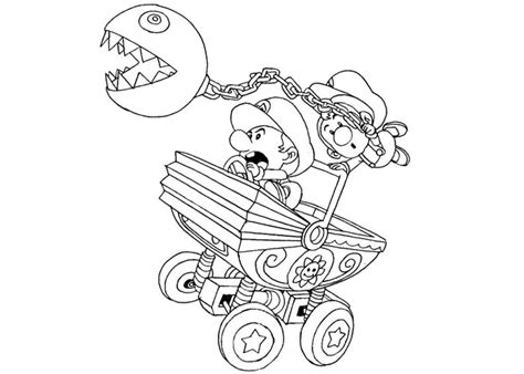 mario kart coloring pages luigi free coloring pages of baby mario kart