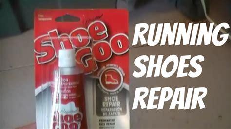 athletic shoe repair running shoe repair with shoe goo