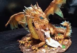 dragon cake topper astridmakosla deviantart