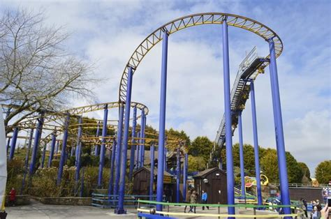 theme park cornwall the colorado the only fast ride picture of flambards