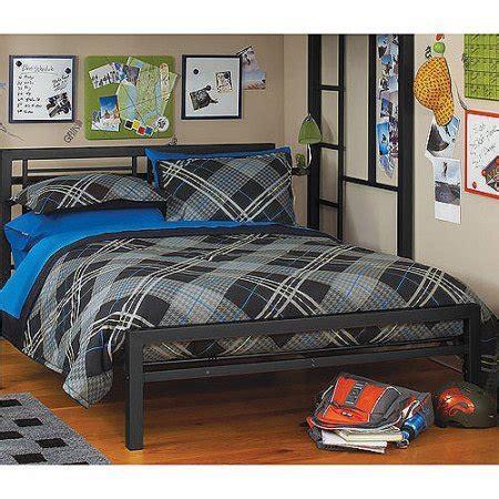 metal bed rails for headboard and footboard black metal full size platform bed black furniture