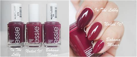 Essie Nagellak by Nagellack Essie Nailed It