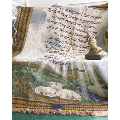 Manual Woodworkers And Weavers Inc 23rd Psalm Tapestry