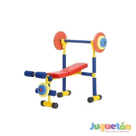 ejercicios banco de pesas banco ejercicio pesas infantil