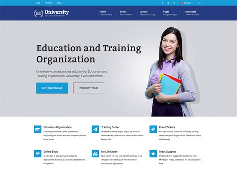 education themes in wordpress free some of popular education wordpress themes