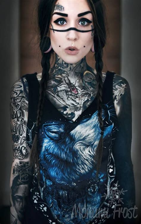 monami frost tattoos pinterest