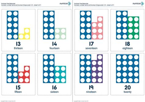 printable numicon number cards 13 best images about numicon on pinterest teaching
