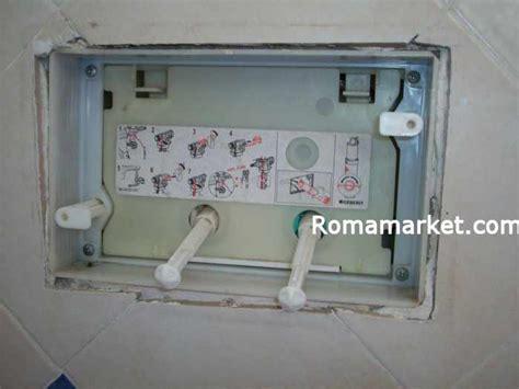 regolazione cassetta geberit riparazione la cassetta wc scarico incassato geberit