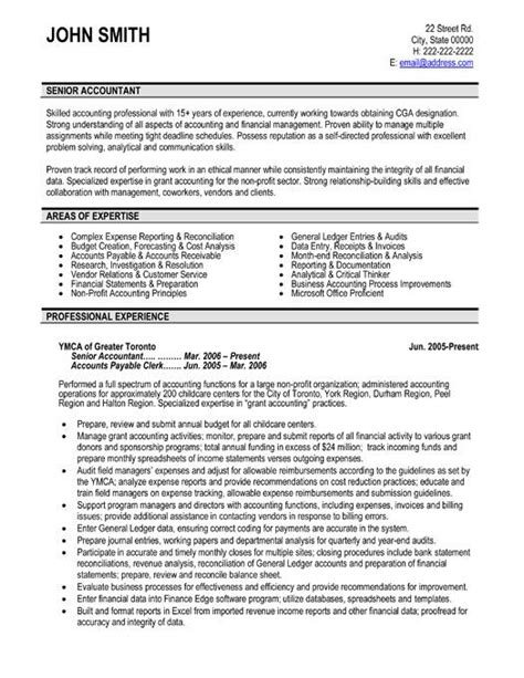 best resume exle for accountant accountant resume template learnhowtoloseweight net