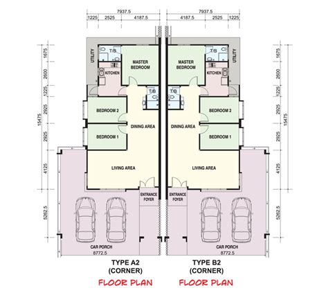 layout plan in malay single storey house floor plan malaysia home design and