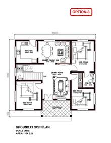model house plans kerala building construction kerala model house 1264 s f t