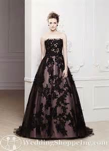 black dresses for a wedding boo tiful black bridal gowns more than just