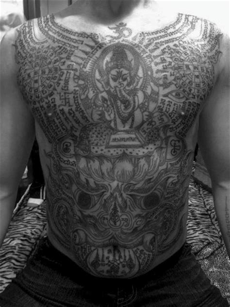 buddhist tattoo in singapore 17 best images about thai temple tattoos on pinterest