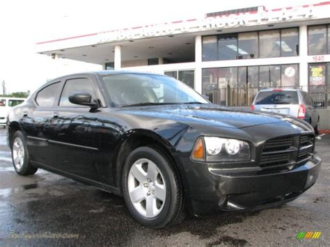 2008 black charger 2008 dodge charger package in brilliant black