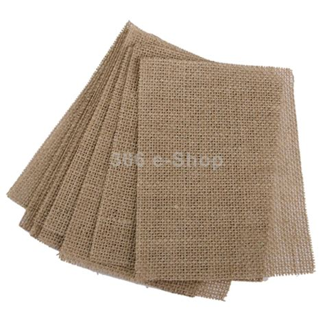suntek burlap placemats handmade set of 10 table mats
