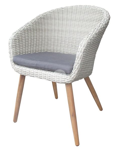 Gray Rattan Dining Chairs   Gray Yasmin Wood Dining Chairs