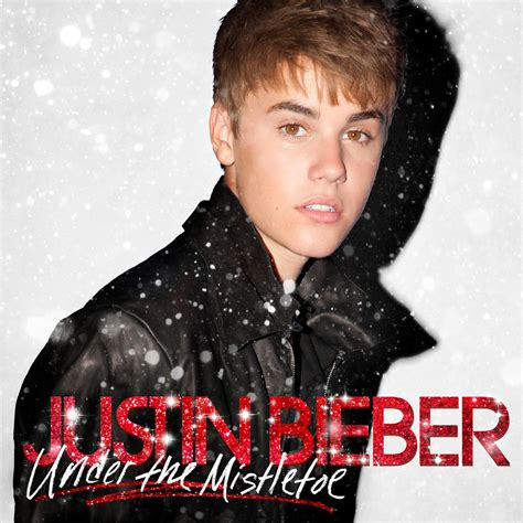 mistletoe justin bieber santa is coming with justin and arthur this year