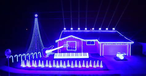 this star wars christmas light show is just wow