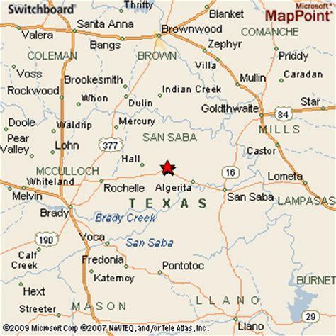 richland texas map richland springs texas