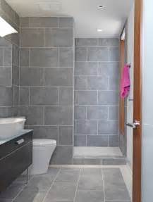 grey tile bathroom ideas home garden design