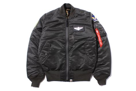 10 Jackets I by A Bathing Ape X Alpha Industries Ma 1 Bomber Jacket The