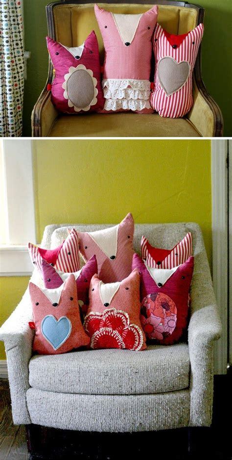 Bantal Fox cara membuat sarung bantal unik ngeblogre fox pillow