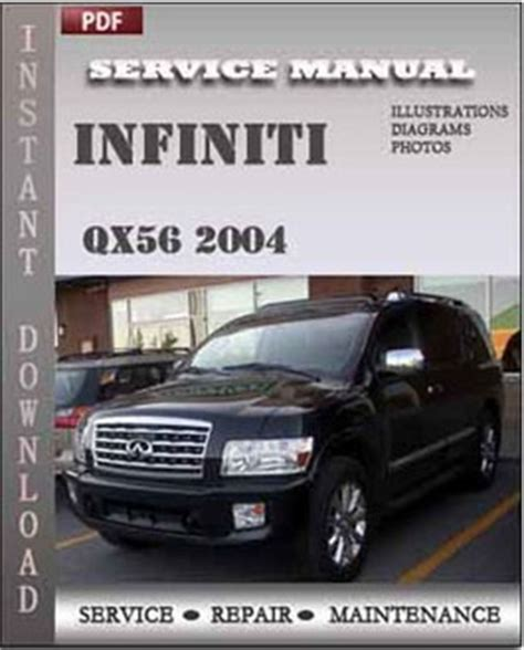 buy car manuals 2005 infiniti qx security system infiniti qx56 2004 service repair servicerepairmanualdownload com